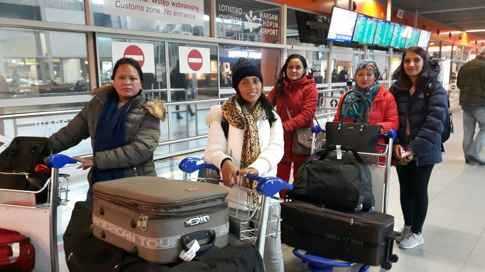 Nepalese Workers in Poland